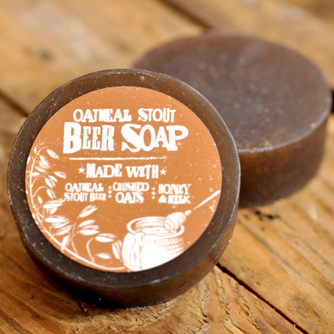 Beer Soap - Oatmeal Stout and Crushed Oats