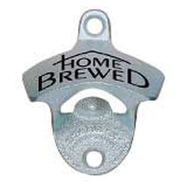 Assorted Gifts - Wall Mounted Bottle Opener - Home Brewed