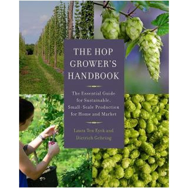 Beer Books - Hop Grower's Handbook By Ten Eyck And Gehring