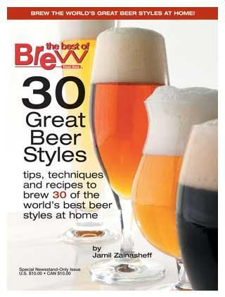 "Beer Magazines - BYO Magazine's ""30 Great Beer Styles"" Special Issue"