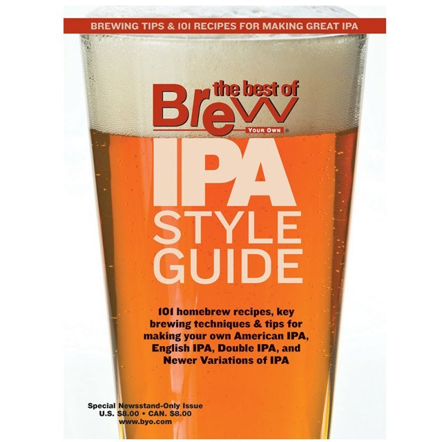 Beer Magazines - BYO Magazine's IPA Style Guide Special Issue