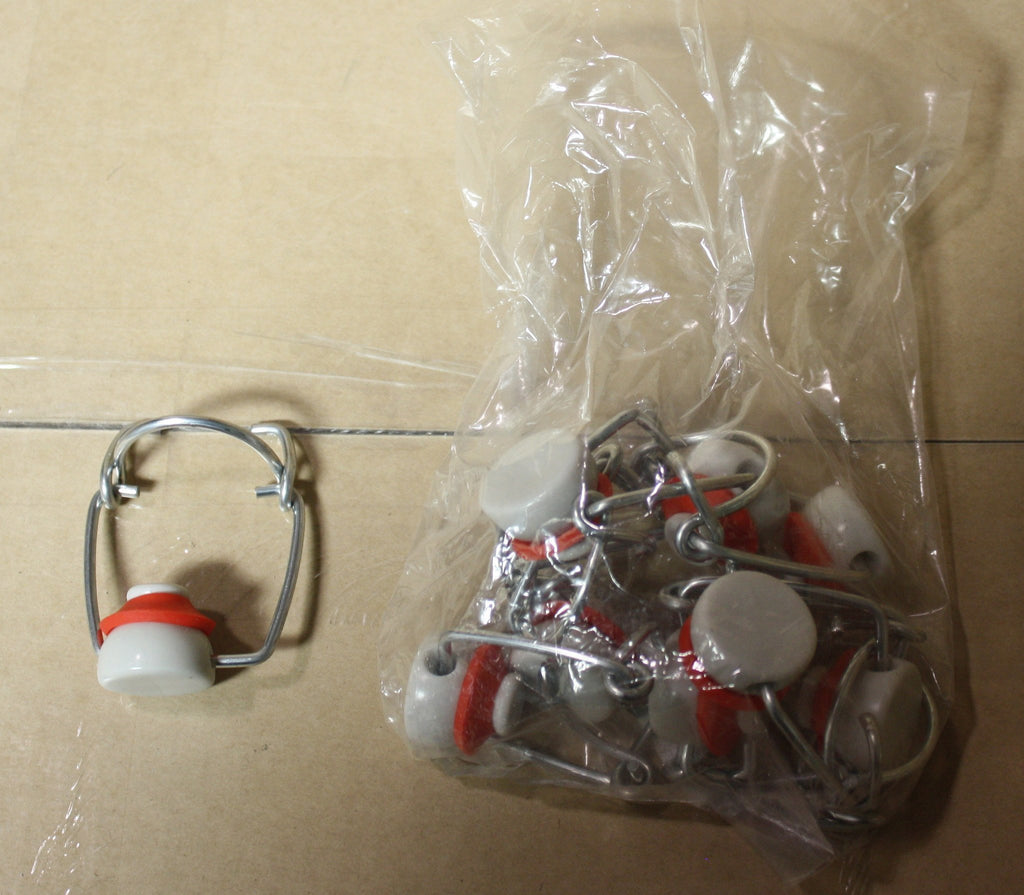 Bottle Caps And Cappers - Caps And Bales For EZ Cap Bottles (Bag Of 12)