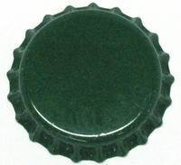 Bottle Caps And Cappers - Crown Caps With Oxy-Liner, Green, ~150 Count