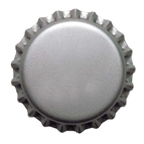 Bottle Caps And Cappers - Crown Caps With Oxy-Liner, Silver, ~150 Count
