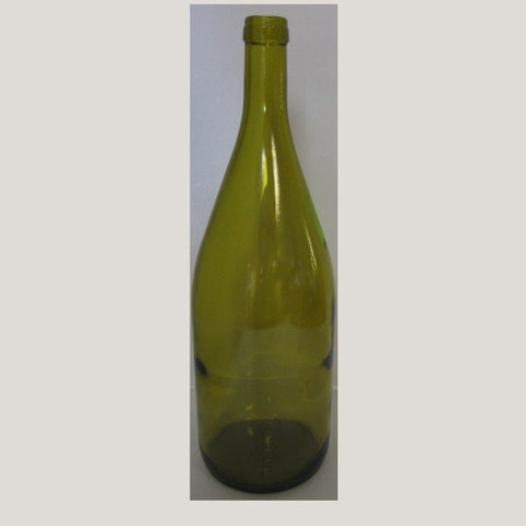 1.5 Liter Magnum Burgundy Wine Bottles - Dead Leaf Yellow (6/Case)