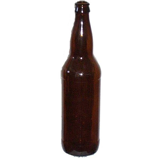 Bottles - 22 Oz Amber Beer Bottles (Bombers) 12/Case