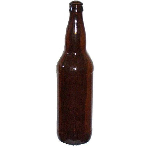 22 oz Amber Beer Bottles (Bombers) 12/Case