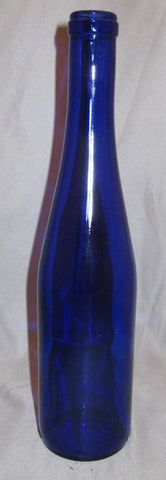 375mL Cobalt Blue Stretch Hock Bottles, 24/Case