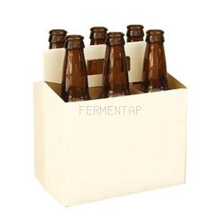 6-Pack Carrier, White