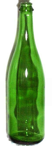 750mL Green Champagne Wine Bottles, 12/Case