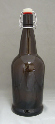 Bottles - EZ-Cap Bottles Amber 16 Oz 12/Case
