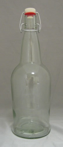Bottles - EZ-Cap Bottles Clear 1 Liter 12/Case