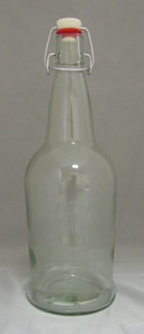 EZ-Cap Bottles Clear 1 Liter 12/Case