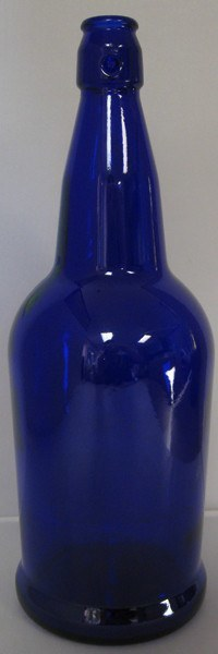 Bottles - EZ-Cap Cobalt Blue 16 Oz Single Bottle