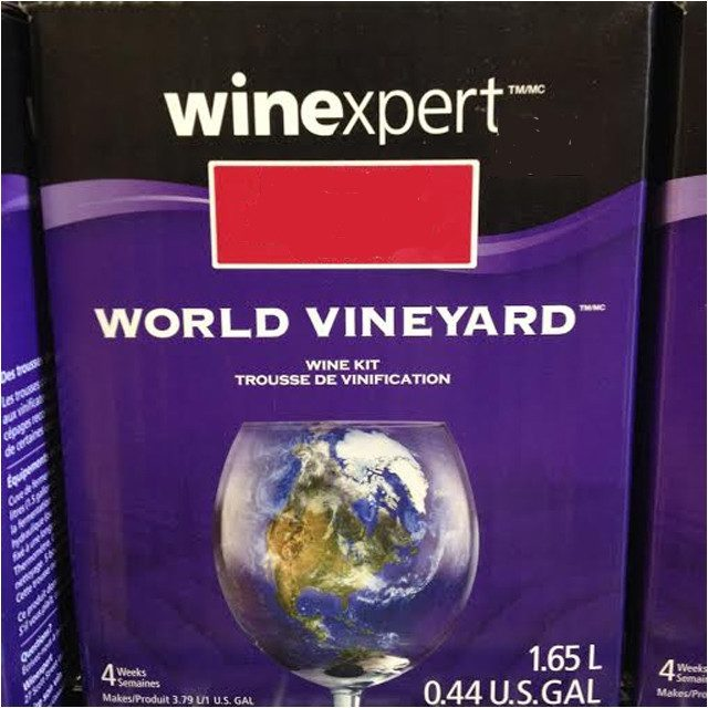 Concentrate Kits - California Pinot Noir 1 Gallon Wine Kit (Winexpert World Vineyard)