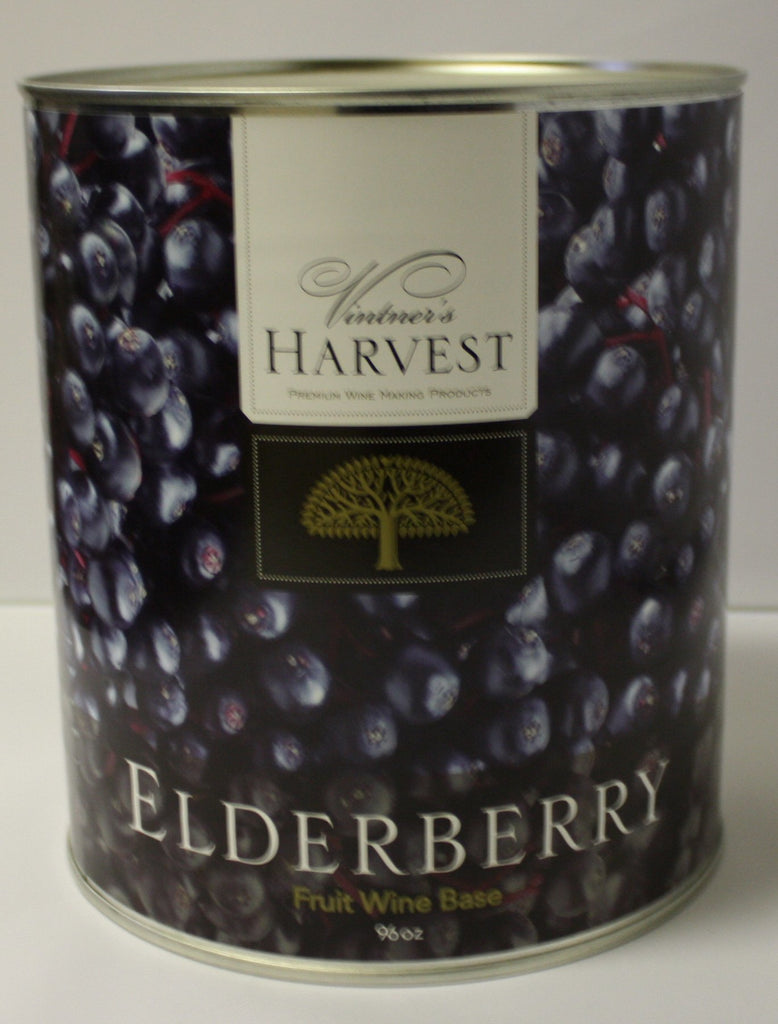 Concentrate Kits - Elderberry Fruit Wine Base 96 Oz Tin (Vintner's Harvest)