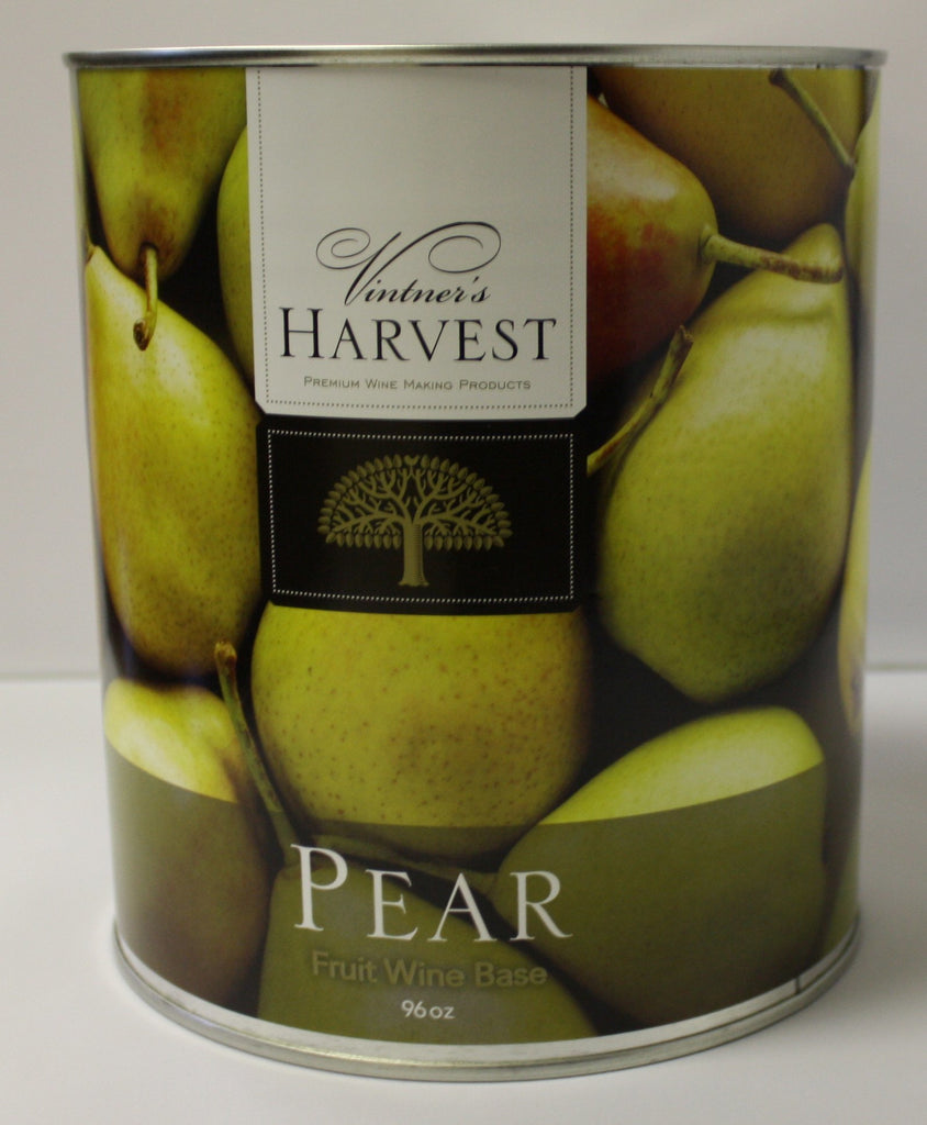 Concentrate Kits - Pear Fruit Wine Base 96 Oz Tin (Vintner's Harvest)