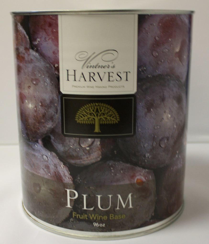 Concentrate Kits - Plum Fruit Wine Base 96 Oz Tin (Vintner's Harvest)