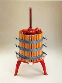 "Fruit Press, #35 Rachet Style, 100 lb Capacity (14"" x 18"")"