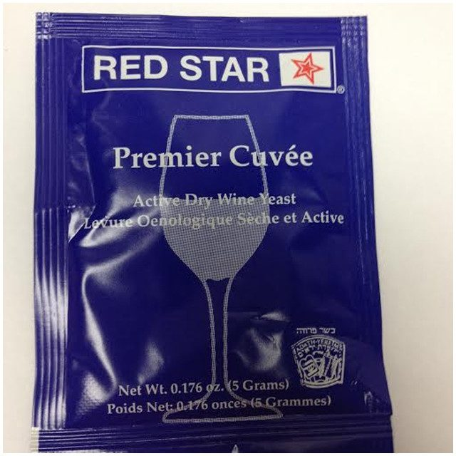 Dry Wine Yeast - Red Star Premier Cuve'e, Prise De Mousse Dry Wine Yeast