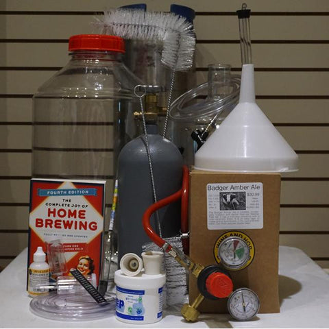 Homebrewing Starter Kit for 5 Gallons - Deluxe