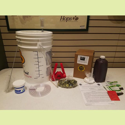 Homebrewing Starter Kit for 5 Gallons - Fundamentals