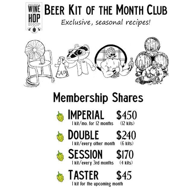 Extract Ale Kits - Beer Kit Of The Month Club