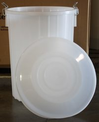 Fermenters - 20 Gallon Fermenting Bucket With Lid