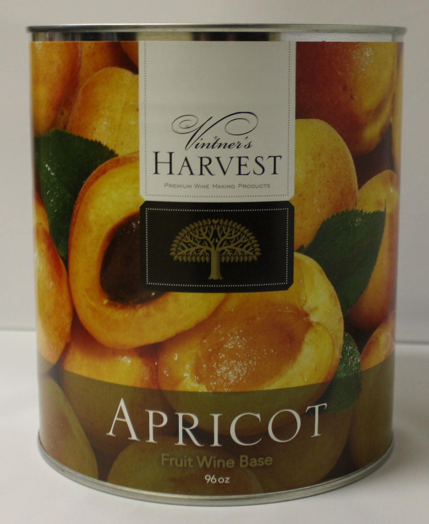 Fruit Puree And Base Concentrates - Apricot Fruit Wine Base 96 Oz Tin (Vintner's Harvest)