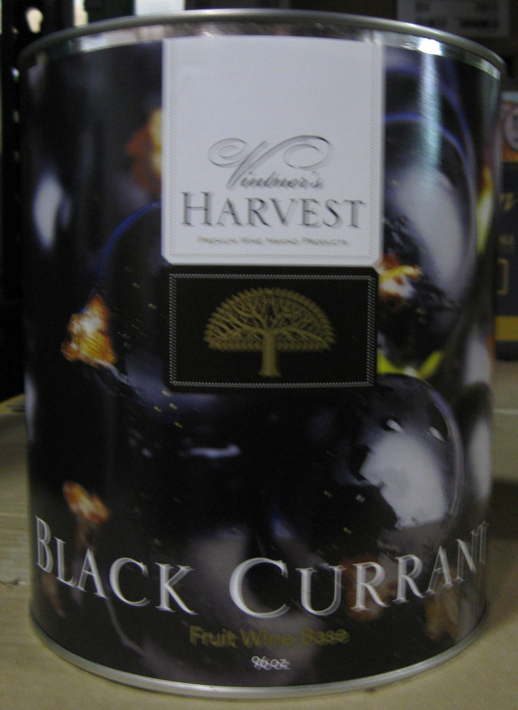 Fruit Puree And Base Concentrates - Black Currant Fruit Wine Base 96 Oz Tin (Vintner's Harvest)