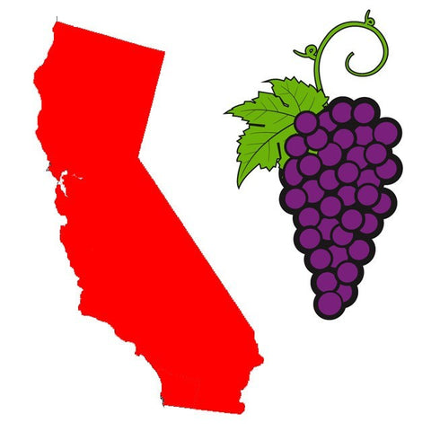 Californian Red Grape Juice - 6 Gallons