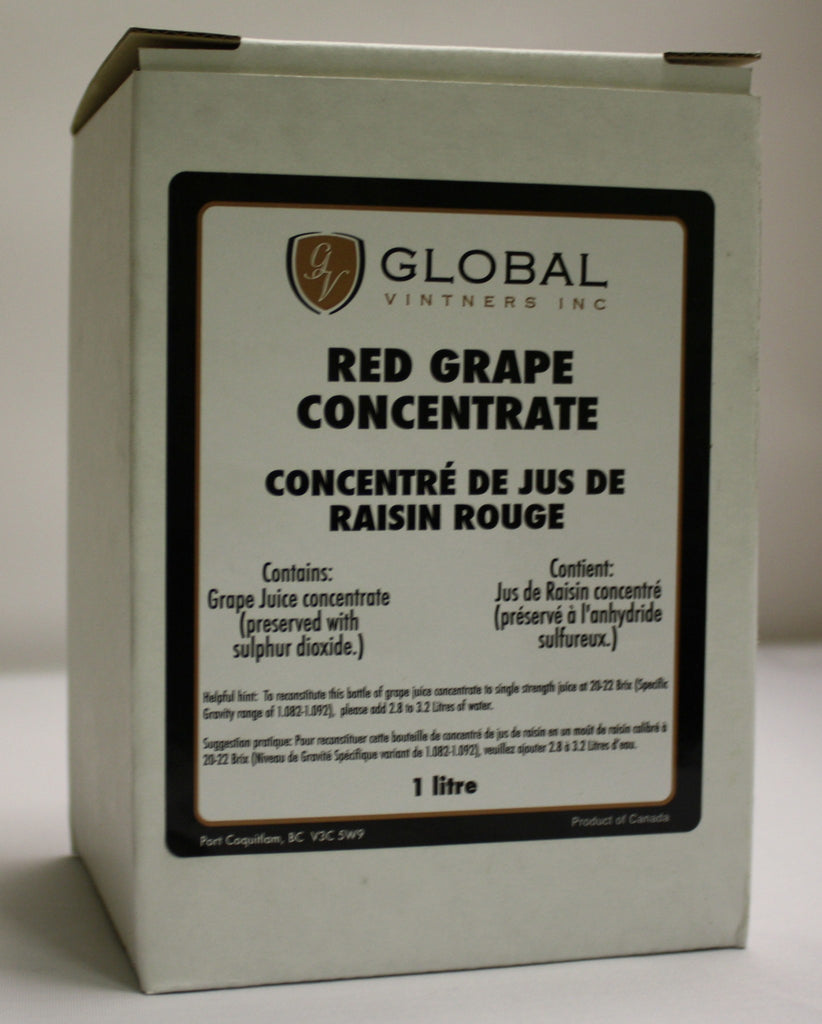 Fruit Puree And Base Concentrates - Grape Concentrate - Red - 1 Liter