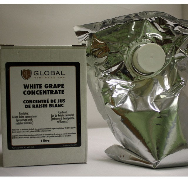 Fruit Puree And Base Concentrates - Grape Concentrate - White - 1 Liter