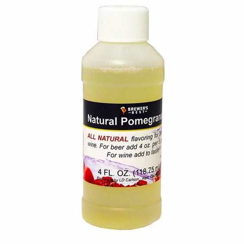 Pomegranate All-Natural Fruit Flavoring Extract 4 oz.