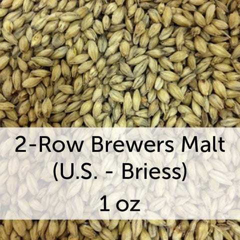 2-Row Brewers Malt 1 oz (US - Briess)