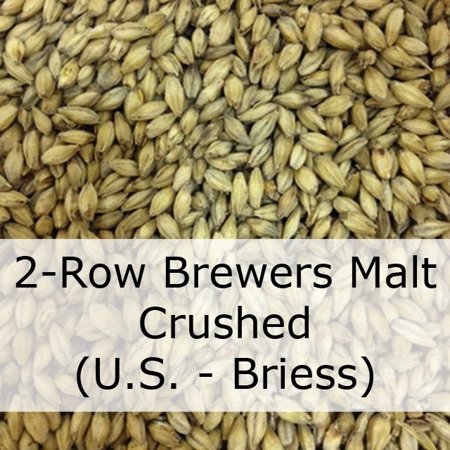 Grain - 2-Row Brewers Malt 50 LB - CRUSHED (US - Briess)