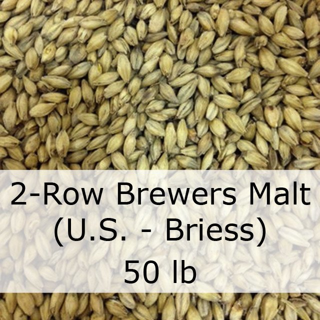 Grain - 2-Row Brewers Malt 50 LB (US - Briess)