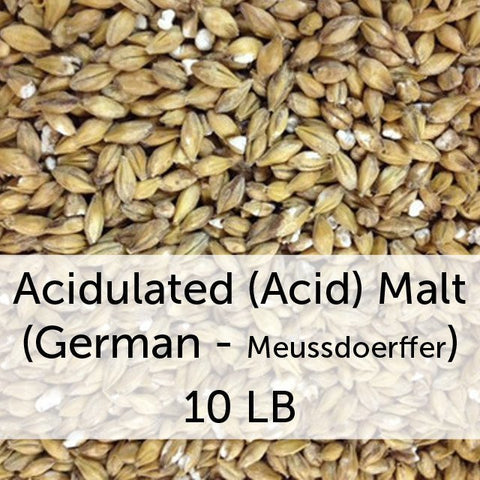 Acidulated (Acid) Malt 10 lbs (German - Meussdoerffer)