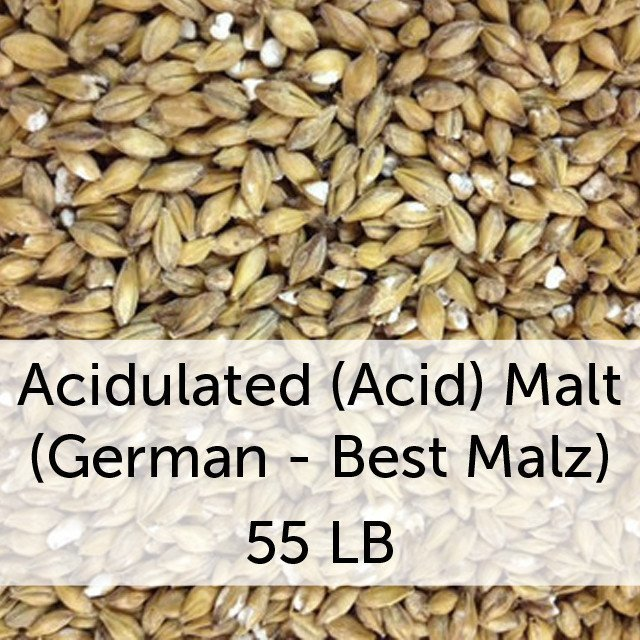 Grain - Acidulated (Acid) Malt 55 LB Sack (German - Best Malz)