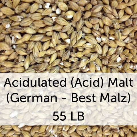 Acidulated (Acid) Malt 55 LB Sack (German - Best Malz)