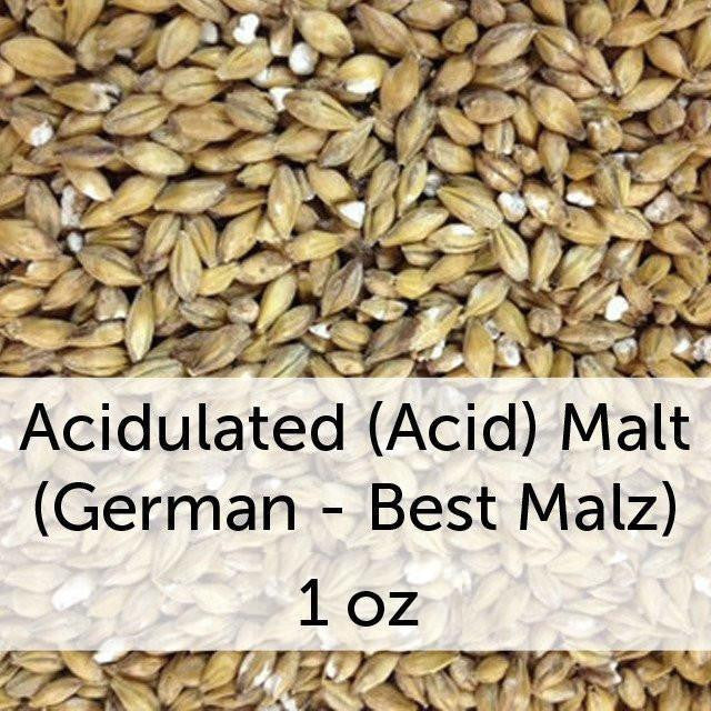 Grain - Acidulated (Acid) Malt (German - Best Malz) 1 Oz