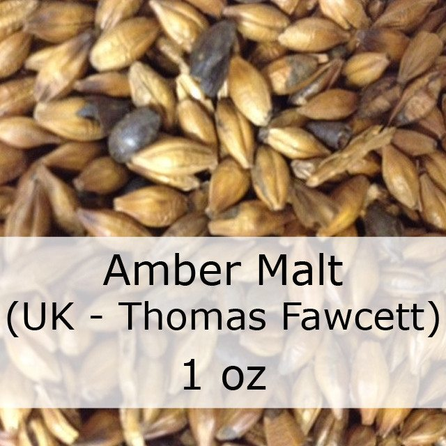 Grain - Amber Malt 1 Oz (UK - Thomas Fawcett)