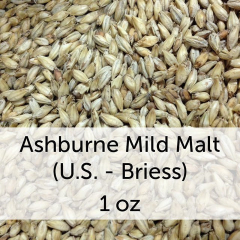 Ashburne Mild Malt 1 oz (US - Briess)
