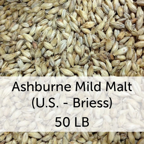 Ashburne Mild Malt 50 LB Grain Sack (US - Briess)