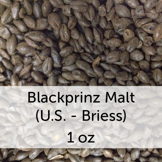 Grain - Blackprinz Malt 1 Oz (US - Briess)