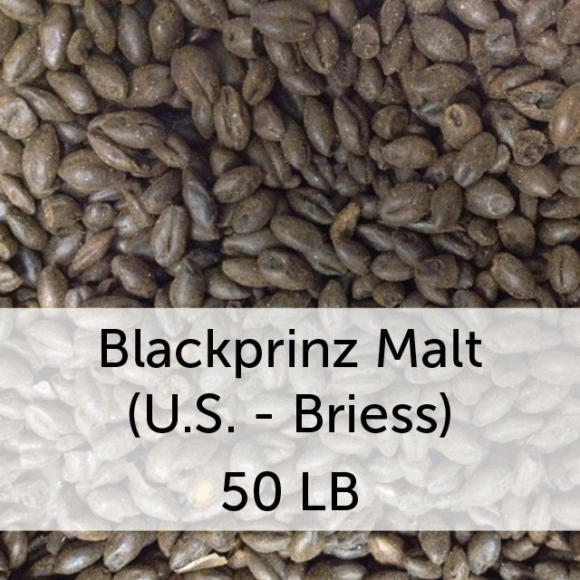 Grain - Blackprinz Malt 50 LB Sack (US - Briess)