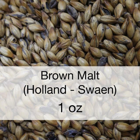 Brown Malt 1 oz (Holland - Swaen)