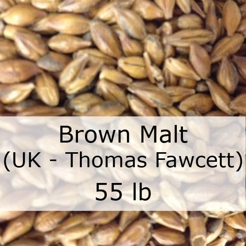 Brown Malt 55 LB Grain Sack (UK - Thomas Fawcett)