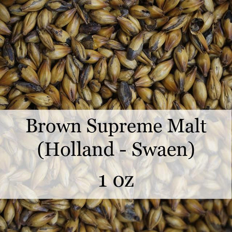 Brown Supreme Malt 1 oz (Holland - Swaen)