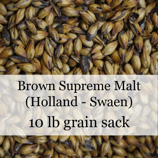 Grain - Brown Supreme Malt 10 Lb (Holland - Swaen)
